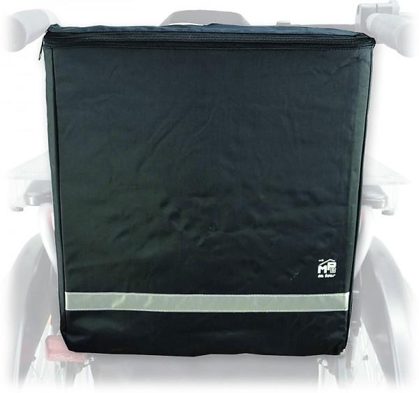 Praktische Rollstuhltasche blickdicht mit viel Stauraum