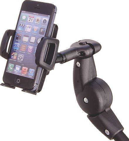 Rollstuhl Handyhalter Smartphonehalter mit individuellen Einstellmöglichkeiten
