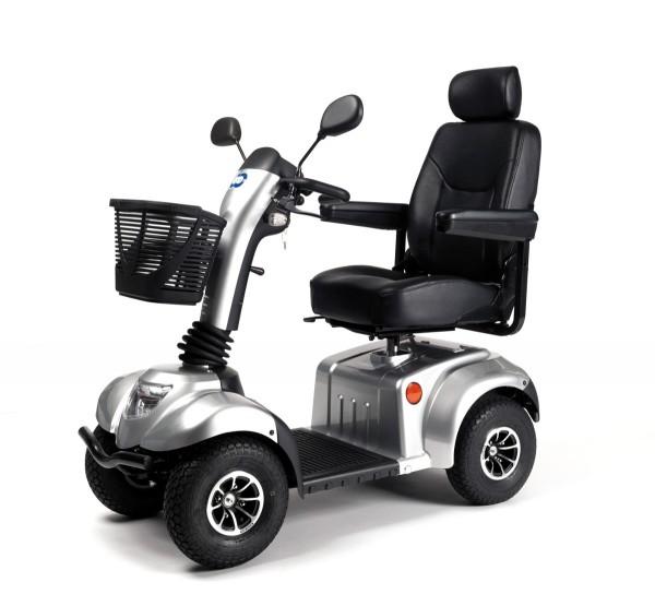 Ceres SE Elektromobil Seniorenmobil Vermeiren 15 km/h silber