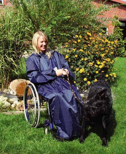 Rollstuhl Regencape Regenbekleidung Orgaterm