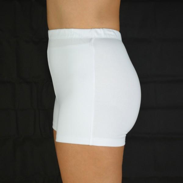 Stoma Panty Damen Frauen Baumwolle weiß