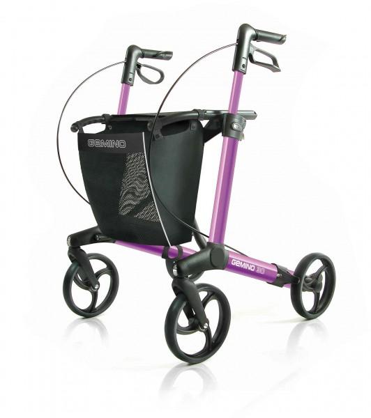 Gemino 30 S Pink Leichtgewicht Rollator Sunrise Medical