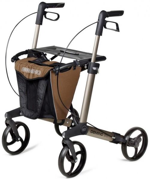 Rollator Tasche Gemino 30 braun-schwarz sunrise medical