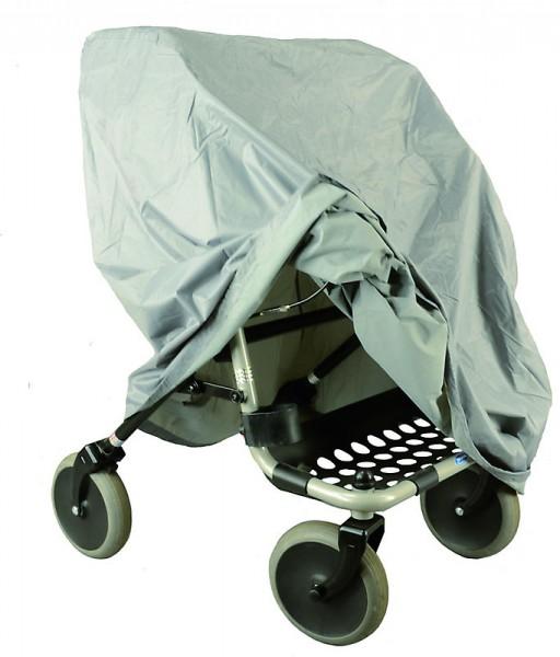 Rollator Garage-Abdeckung in Farbe Grau aus hochwertigen Nylon Gewebe