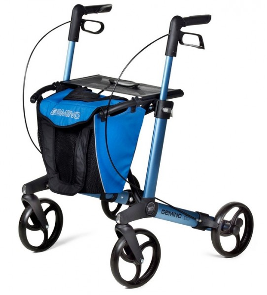 Rollator Tasche Gemino 30 blau-schwarz sunrise medical
