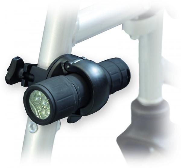 Front LED Licht für Rollstuhl inkl. Halterung