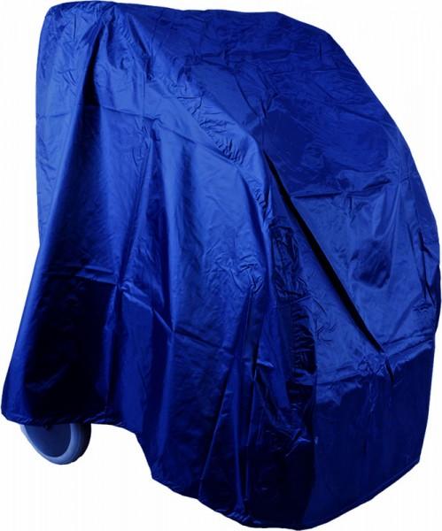 Rollator Garage-Abdeckung in Farbe Blau aus hochwertigen Nylon Gewebe