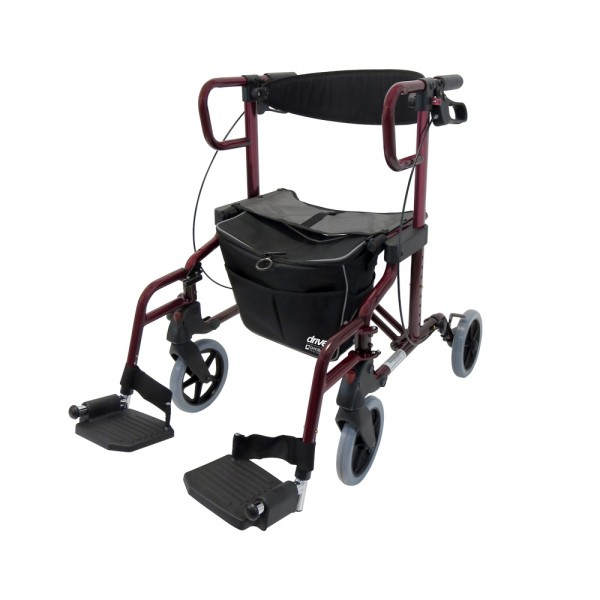 Diamond Deluxe Rollator Rollstuhl Drive Medical
