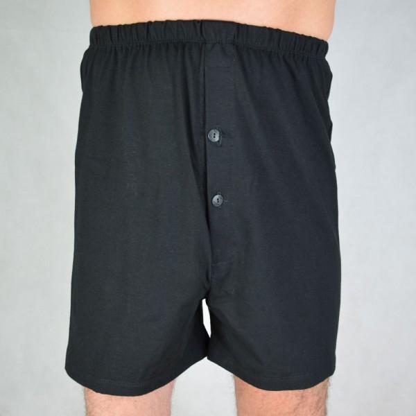 Stoma Boxershorts Unterwäsche Mann Baumwolle schwarz