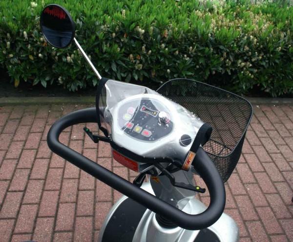 Elektromobil Zubehör Cockpit Regenabdeckung von Orgaterm