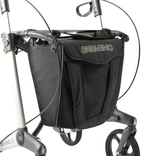 Rollator Tasche Gemino 30 schwarz sunrise medical