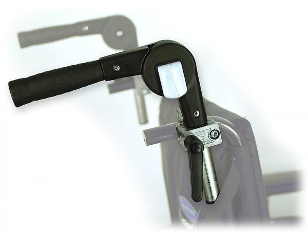 Schiebegrifferhöhung Rollstuhl Winkelverstellbar