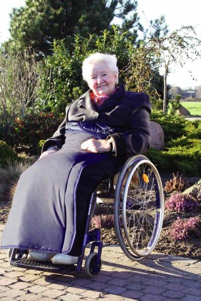 Rollstuhl Decke Wickeldecke Orgaterm