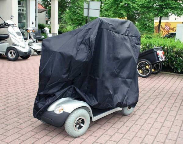 Elektromobil Garage Wetterschutz von Orgaterm in Farbe Marine oder Schwarz