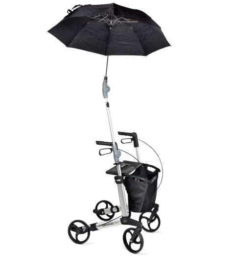 Der Rollator Schirm für Gemino 30 schütz Sie vor Wind, Wetter und Regen